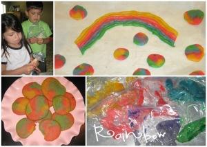 Garden of the Good Shepherd week 3 rainbow