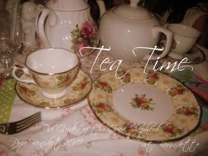 tea time setting
