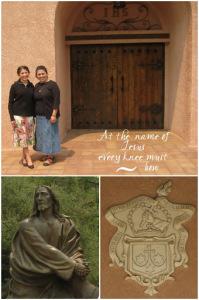 Rose & Mom at Carmelite Monastery