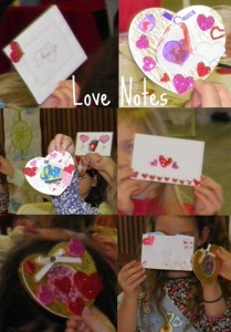 Love of Our Neighbor Craft - love notes