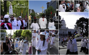 may procession collage