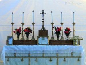 rogation altar JOY