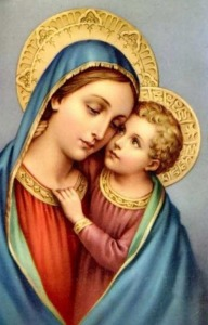 Jesus with Mother Mary