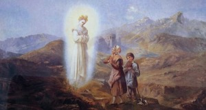 children and Our Lady of La Salette