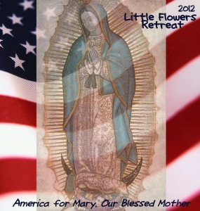 retreat logo - America for Mary, Our Blessed Motherv2