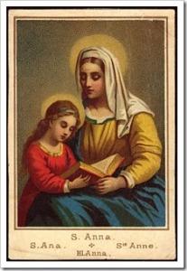 st anne -holycard