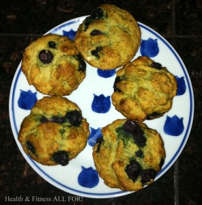 Marian GD blueberry muffins