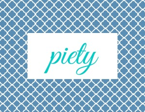 Virtue Group Signs - piety