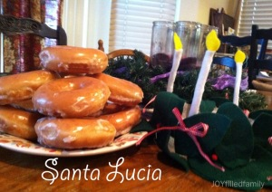 santa lucia feast day treat
