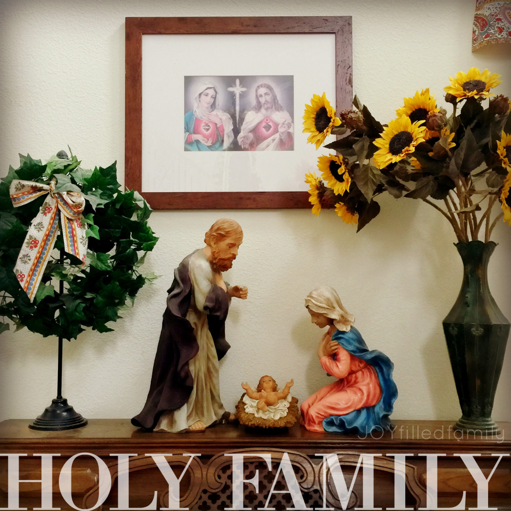 Holy Family - First Suday after Epiphany
