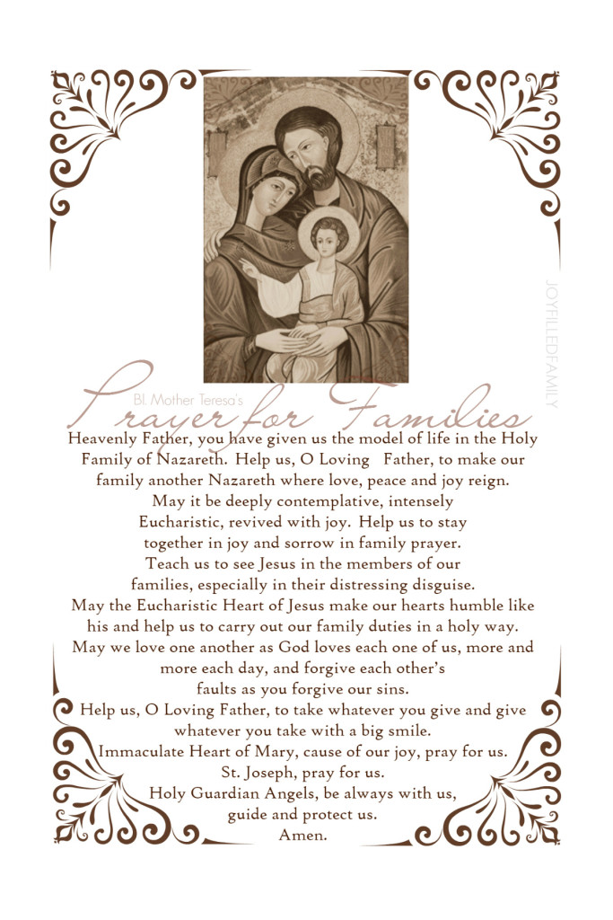 Prayer for Families - phone