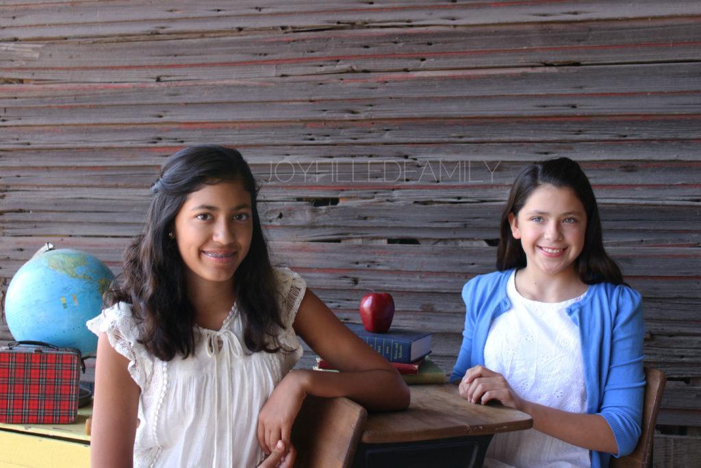 JOYFILLEDfamily girls 16-17