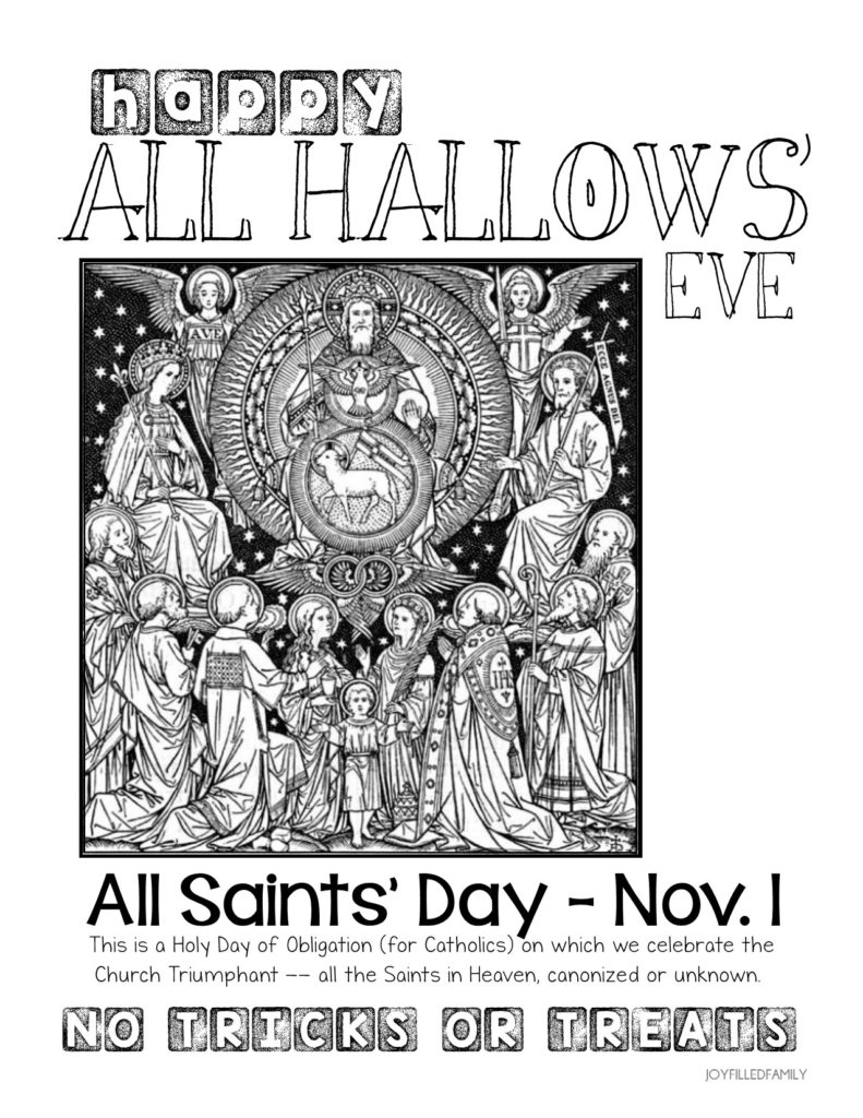 all-saints-day-no-tricks-or-treats