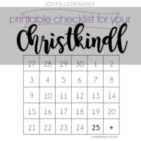 Christkindl {Christ Child}