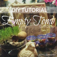 Empty Tomb Garden {DIY}