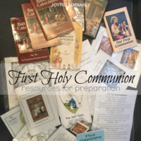 First Communion Resources